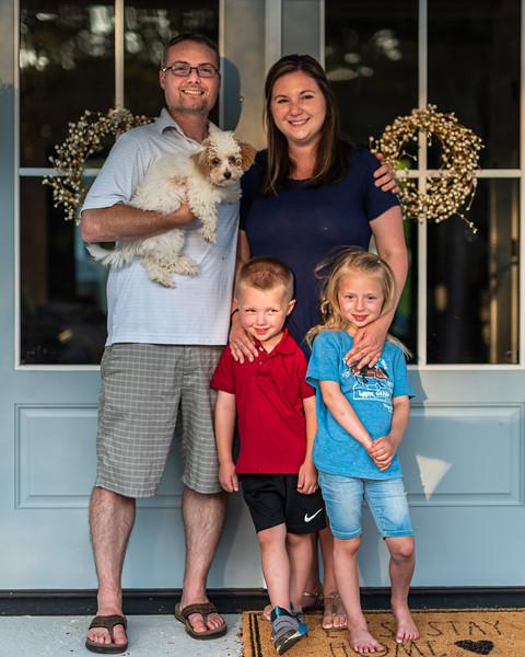 Chadwick Family     New House