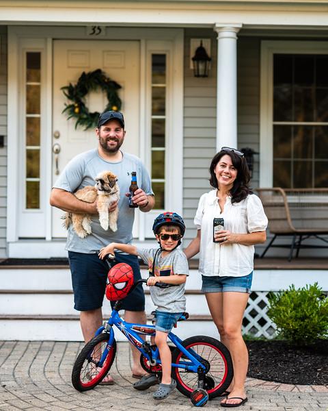 Arseneault Family     Spider Man & Summer Beverages