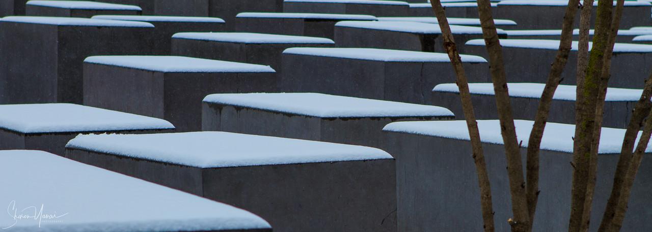 האנדרטה לזכר רצח יהודי אירופה, ברלין, גרמניה