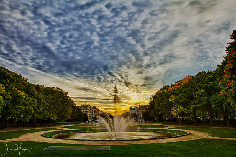 Fountain in HDR, Brussels, Belgium