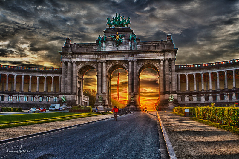 Arc the triumph, Brussels, Belgium (HDR)