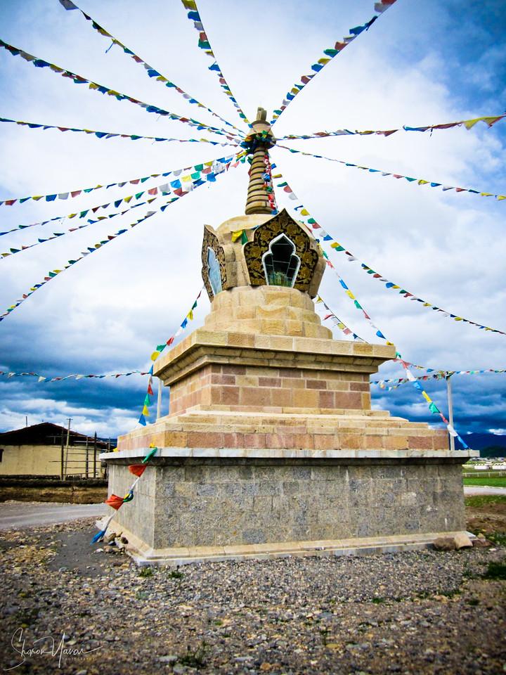 מקדש בודהיסטי, שנגרילה, יונאן, סין