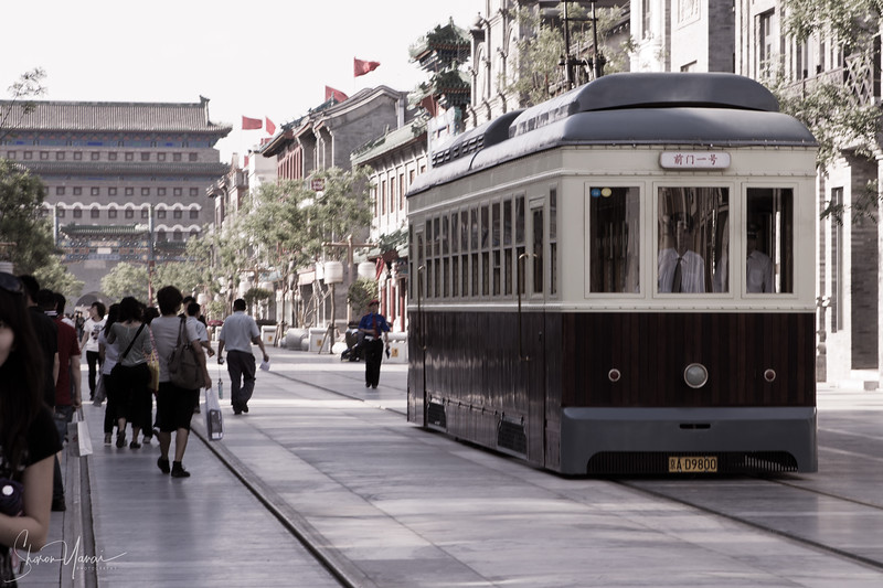 רחוב קיאנמן המשופץ המוביל לכיכר טינאנמן