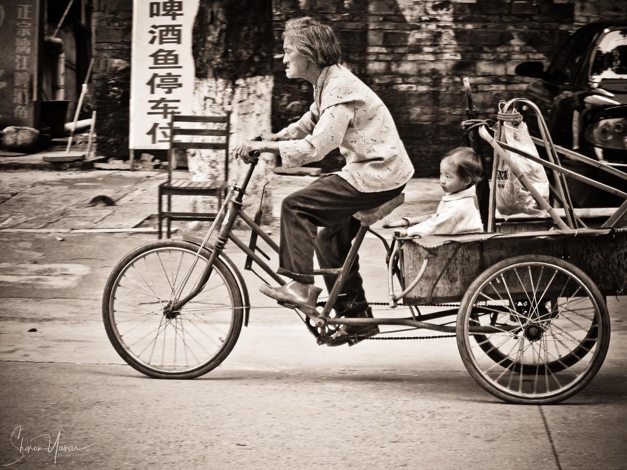 Past, Present, Future, Yangshuo, China