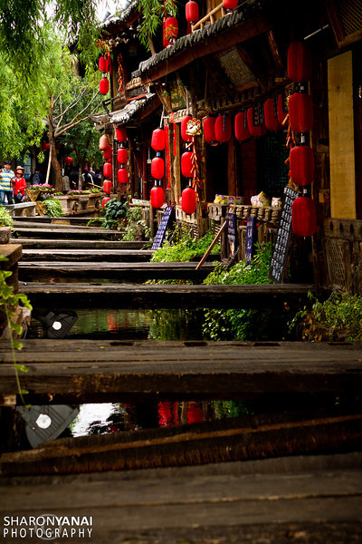 Lijiang Old Town Street, China