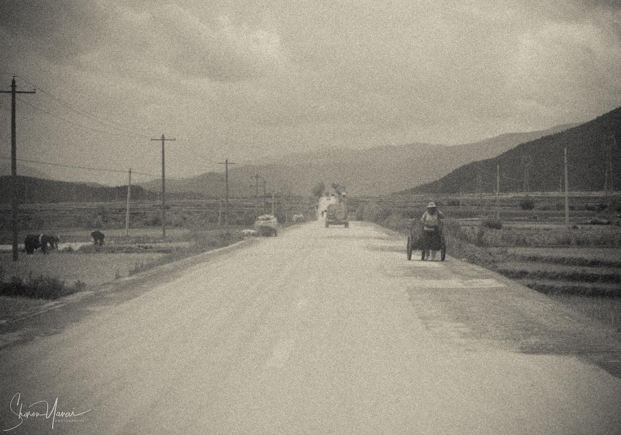 On the Road, Yunnan, China