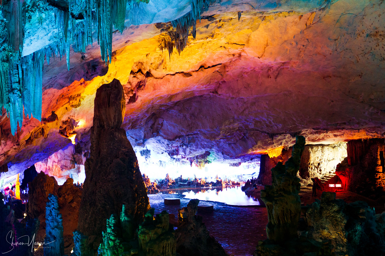 Stalactite and Stalagmite Cave, Guilling, China