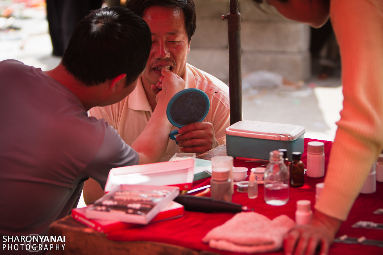 Dentist At The Longpanxiang Market, China