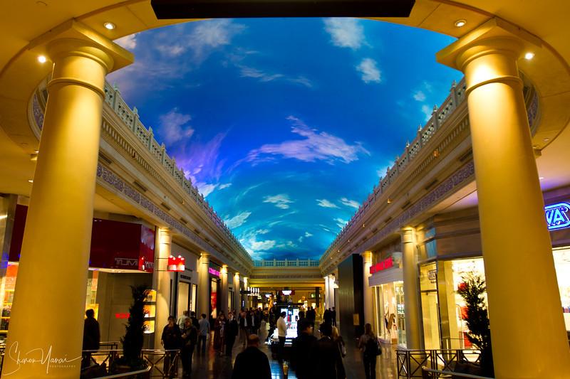 Inside the Forum Shops, Las Vegas, Nevada, USA