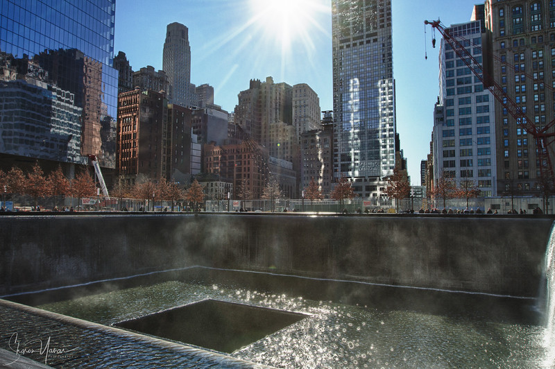 9/11 memorial, Manhattan, NY, USA