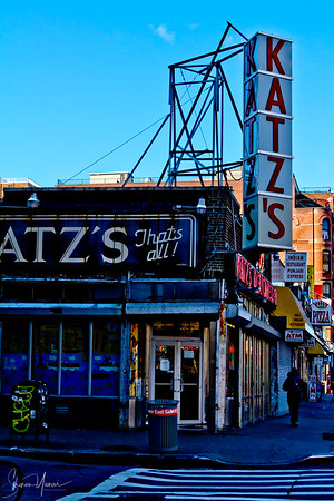 Katz's Restaurant, downtown, Manhattan, NY, USA