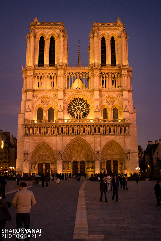 The Notre Dame, Paris, France