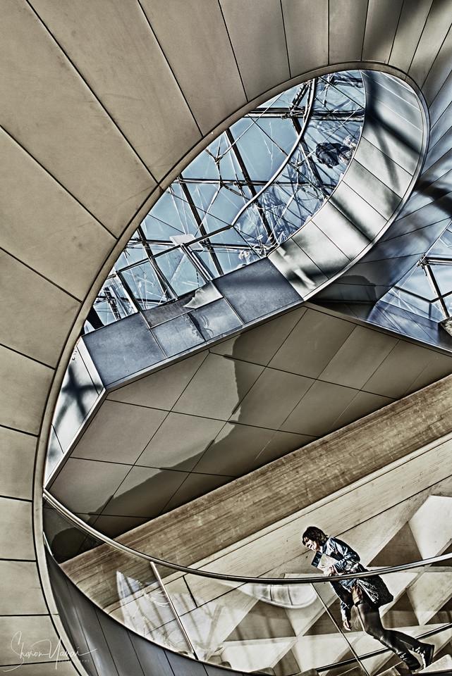 Louvre entrance, Paris, France
