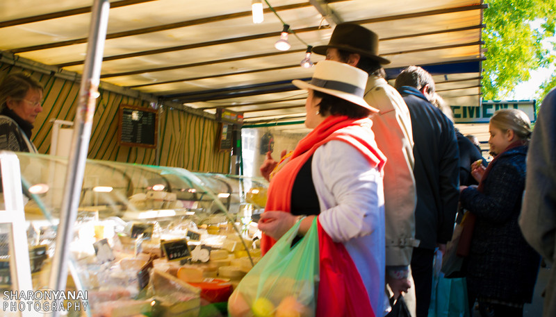 At the local market, Montparnasse, Paris, France