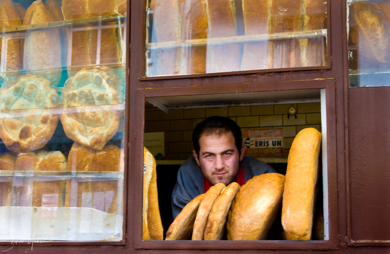 Village bakery, Kachkar, Turkey