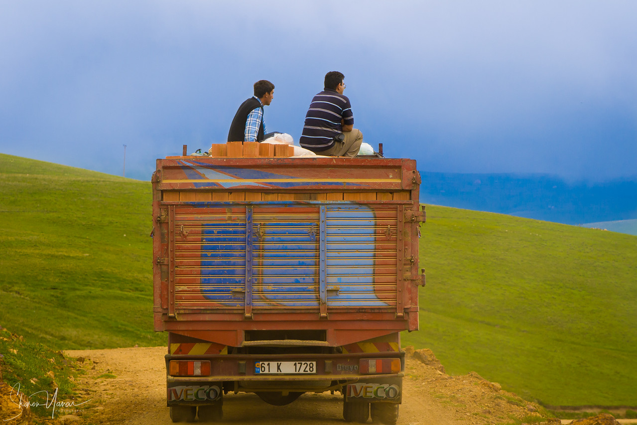 on the mountains, Kachkar, Turkey