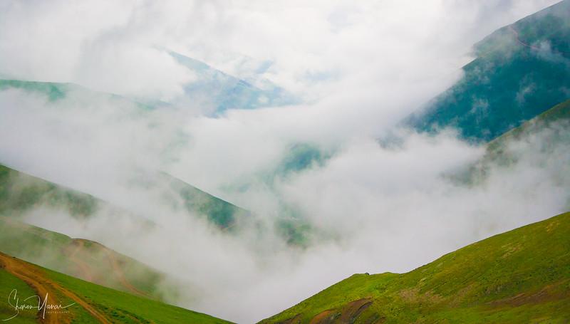 Clouds over the Kachkar mountains, Turkey