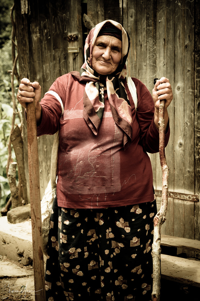 Woman at Work, Kachkar, Turkey