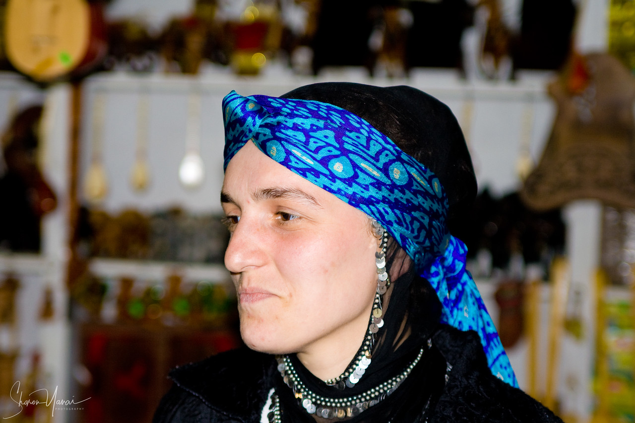 Chamlihemsin - A woman at her shop, Kachkar, Turkey