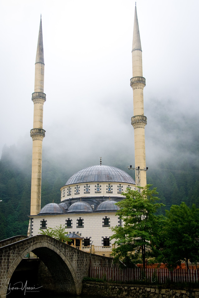 Mosque in a village, Kachkar, Turkey
