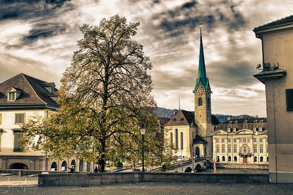Old town of Zurich, Switzerland