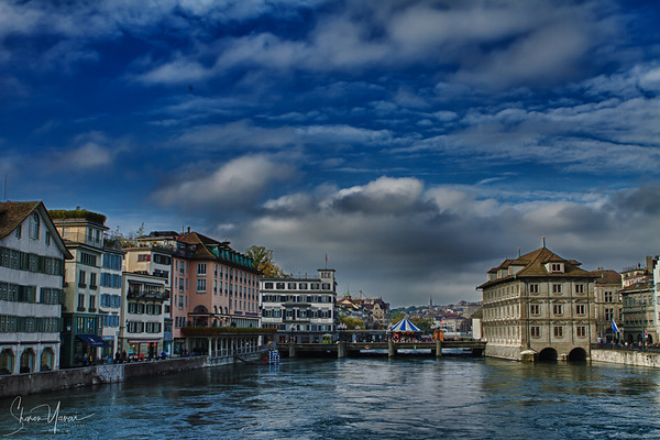 Zurich, Switzerland - The old town
