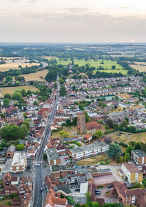 Ingatestone from above