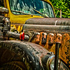Truck Graveyard in HDR