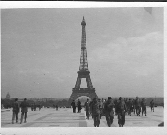 Paris, France<br /> <br /> 549th AAA AW BN BTRY C<br /> 87th Infantry Division.<br /> Involved in the Battle Of The Bulge - WWII.<br /> <br /> photo credit - Mr. Wayne L. Luedke; 549th AAA AW BN Btry C