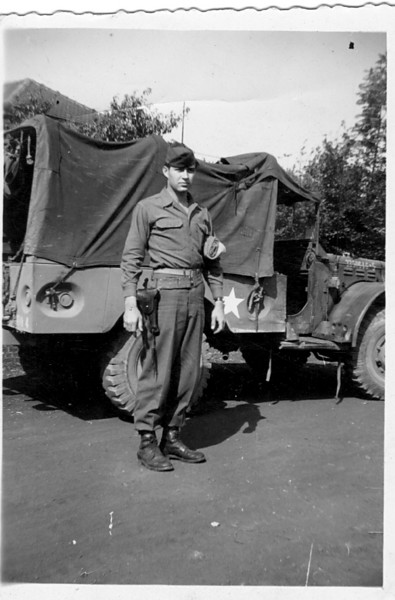 549th AAA AW BN BTRY C<br /> 87th Infantry Division.<br /> Involved in the Battle Of The Bulge - WWII.<br /> <br /> Wayne L. Luedke<br /> <br /> photo credit - Mr. Wayne L. Luedke; 549th AAA AW BN Btry C