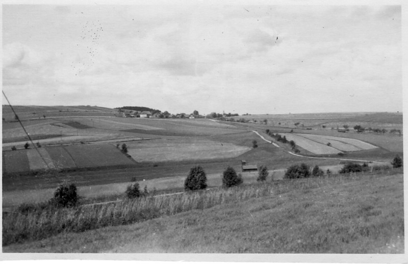 Farm country - Germany<br /> <br /> 549th AAA AW BN BTRY C<br /> 87th Infantry Division.<br /> Involved in the Battle Of The Bulge - WWII.<br /> <br /> photo credit - Mr. Wayne L. Luedke; 549th AAA AW BN Btry C