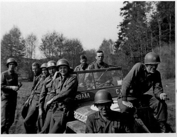 Some from the 549th.<br /> <br /> 549th AAA AW BN BTRY C<br /> 87th Infantry Division.<br /> Involved in the Battle Of The Bulge - WWII.<br /> <br /> photo credit - Mr. Wayne L. Luedke; 549th AAA AW BN - Btry C