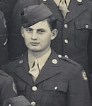 PFC Daniel Lee Shippy<br /> cropped from large Unit picture of the 549th AAA AW Bn - Btry C - 1943<br /> (3rd row from bottom - #20 from left)<br /> <br /> 549th AAA AW BN BTRY C<br /> 87th Infantry Division.<br /> Involved in the Battle Of The Bulge - WWII.<br /> <br /> Obit :<br /> Daniel Shippy<br /> January 14, 1925 - June 17, 2006   <br /> Daniel Lee (Skip) Shippy, 81, of Raytown, MO, passed away Saturday, June 17, 2006<br /> at Research Medical Center. <br /> <br /> Daniel was born January 14, 1925 in Kingsville, MO to Dan and Nora (Plattner) Shippy and had lived in this area most of his life. He retired in 1987 from KPL Gas after 40 years of service. He received special recognition from Kansas City, MO Mayor Berkley and the KCMO Fire Department for outstanding service to them while a KPL employee.<br /> <br /> He was an Army veteran of W.W. II, serving from April of 1943 to May of 1946. <br /> He served in the Rhineland and Ardennes battles in the European Theater with <br /> Battery C 549th Anti Aircraft Artillery Automatic Weapons Division. <br /> He received the EAME Ribbon with two Bronze Stars and the American Theater Ribbon. <br /> He received his Honorable Discharge after being injured in the War.<br /> <br /> Daniel was a member of the Raytown Masonic Lodge #391 AF&AM, <br /> the Low 12 and the Scottish Rite Bodies.<br /> <br /> He was preceded in death by his parents, his wife of 58 Years, Pauline E. Shippy in 2005, <br /> a brother Kenneth Shippy, four sister, Wanda Ditton, Edith Martin, <br /> Bessie Shippy and Ethal Smead.<br /> <br /> Survivors include two daughters, Brenda K. Shippy of the home, <br /> Linda D. Driscoll and husband Barry of Overland Park, KS, <br /> a son Daniel R. Shippy of Liberty, MO, two sisters, <br /> Wilma Ballard and Lola Bedsaul, a sister-in-law, Kate Shippy, her grandchildren, <br /> Eric John Driscoll and wife Kathy, Michael Lee Driscoll and wife Diana, Daniel Robert Shippy,<br /> Gregory N. Shippy, Stacy Kelly, a great grandson and a host of nieces, nephews and friends.<br /> <br /> Skip never had a bad word to say about anyone and would do anything for anybody. <br /> His family greatly appreciates the loving care given to him by Tameka Williamson.