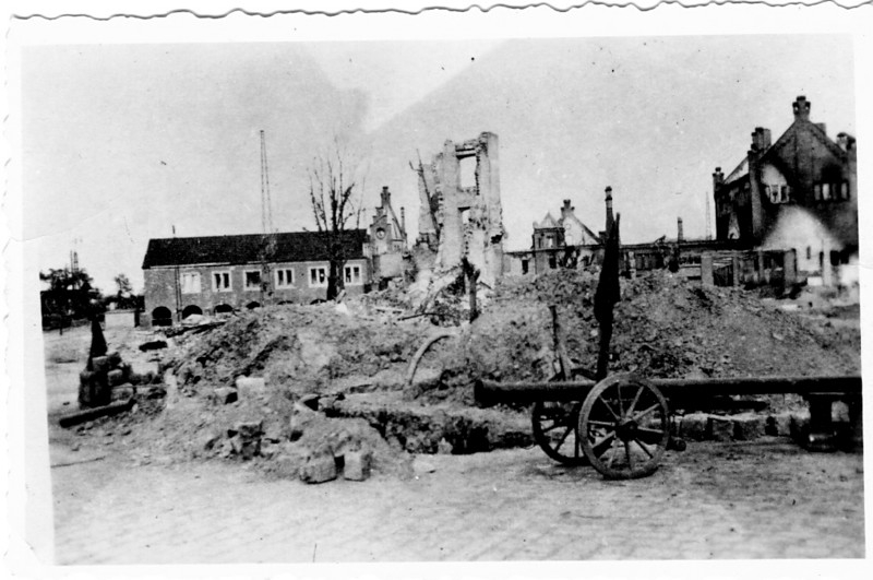 German Village - something happened.<br /> <br /> 549th AAA AW BN BTRY C<br /> 87th Infantry Division.<br /> Involved in the Battle Of The Bulge - WWII.<br /> <br /> photo credit - Mr. Wayne L. Luedke; 549th AAA AW BN Btry C