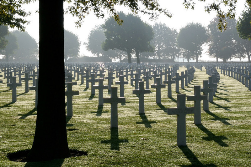 Netherlands American Cemetery and Memorial in Margraten