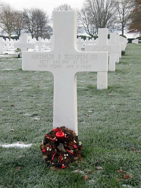 Sgt Arthur J. Suhren - Christmas 2009