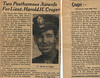 Obituary - 1st Lieutenant Harold Hilliard Cruger