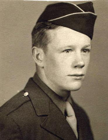 """James Hennessey <br /> 87th Infantry Division, 345th, Co E <br /> <br /> I received an email from Mr. Hennessey  with the message:<br /> <br /> """"Stay Well -Enjoying Your Freedom-Thank A Veteran<br /> Invictus<br /> God Bless America""""<br /> <br /> You can read about Mr. Hennessey and memories of his time in the war at:<br /> <br /> <a href=""""http://www.6thcorpscombatengineers.com/JamesHennessey.htm"""">http://www.6thcorpscombatengineers.com/JamesHennessey.htm</a><br /> <br /> An excerpt from his entry on that website:<br /> <br /> """"Jim was discharged from the Army on December 15, 1945 at Camp Upton, Patchogue, Long Island. <br /> He married his wife, the former Dolly Tagliareni, in 1949. They have two sons, and two grandsons. <br /> He retired in 1982 after working for 35 years as a mailman for the Bayonne Post Office. <br /> Says Jim: <br /> """"It seems the Acorn patch on my shoulder ended up in my heart, <br /> for I feel blessed to have friends in the 87th.'' <br /> <br /> <br /> From gallery moderator:<br /> Thank you Mr. Hennessey for contacting this gallery and your willingness to place your photo and information on this gallery."""