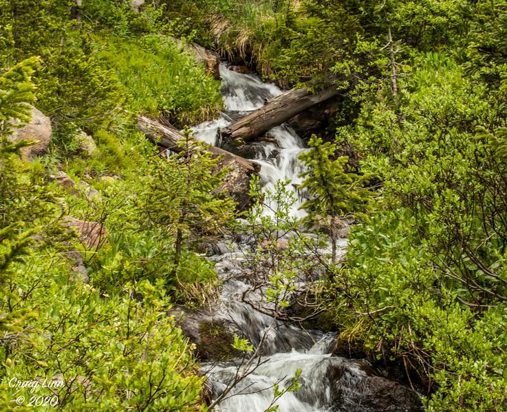 Creek at Zimmerman Lake