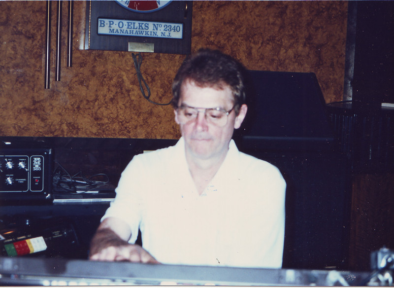 Leroy Lewis playing at the Elks Club in Manahawkin, NJ in May 1989.