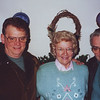 From left to right:  Leroy Lewis, Ann Bridgman & Ted Campbell December 21, 1995.  Leroy and Ted came to visit my parents during Christmas time at their home in NJ.