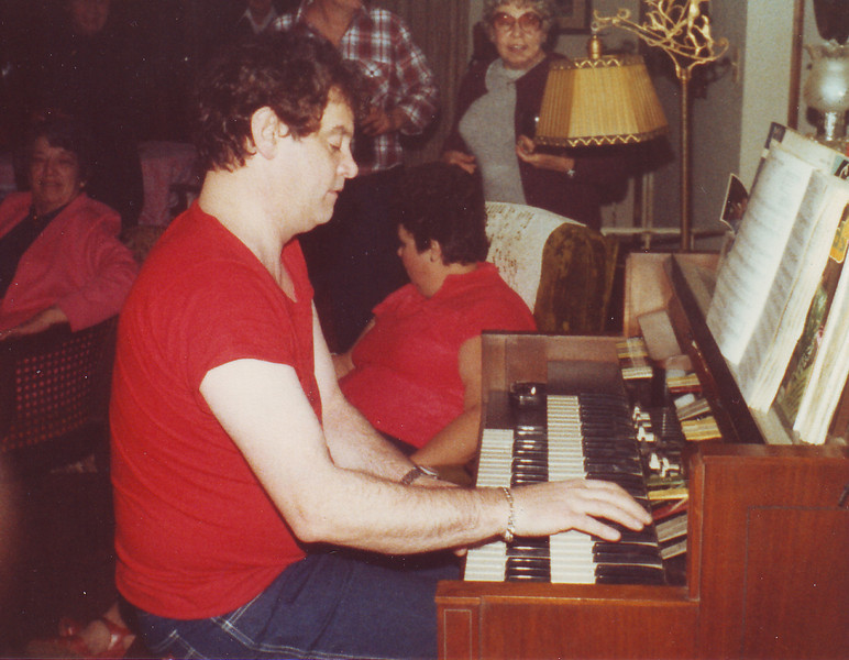 Leroy playing on New Years Day 1981.  This was in Janice Colbert's home in Ocean Acres, NJ.  Janice was Leroy's former manager and friend.