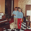 Leroy (left) and Ann Bridgman stand in the music room of Leroy and Ted's Ocean Acres, NJ home.  This was my Mother's birthday April 19, 1983.