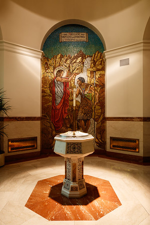 The Baptistry at Cathedral of St Matthew the Apostle
