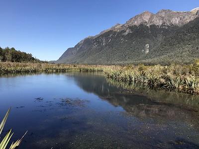 Mirror Lake - Milford Sound adventure