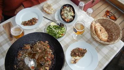 Lunch outside Aphrodisias