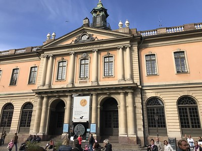 Old Town Stockholm - on tour with Gionni