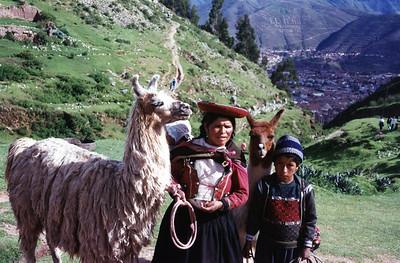 Outside Cuzco, Peru