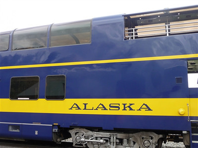 Train from Denali to Fairbanks