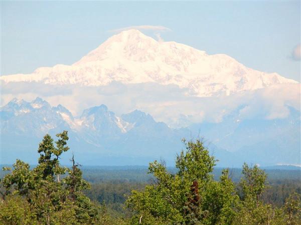 Denali, Alaska - rare opening